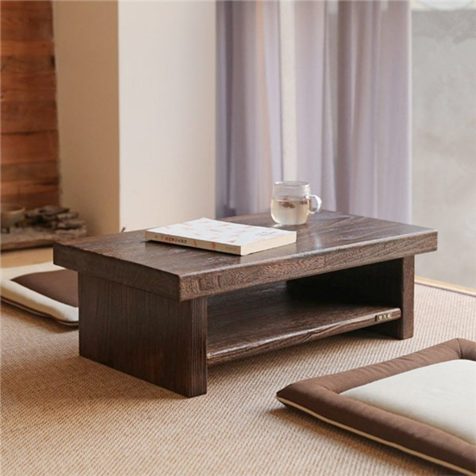 Dystopian Furnishings Traditional Japanese Floor Table Etsy Furniture Sets Design Japanese Furniture Coffee Table [ 1588 x 1588 Pixel ]
