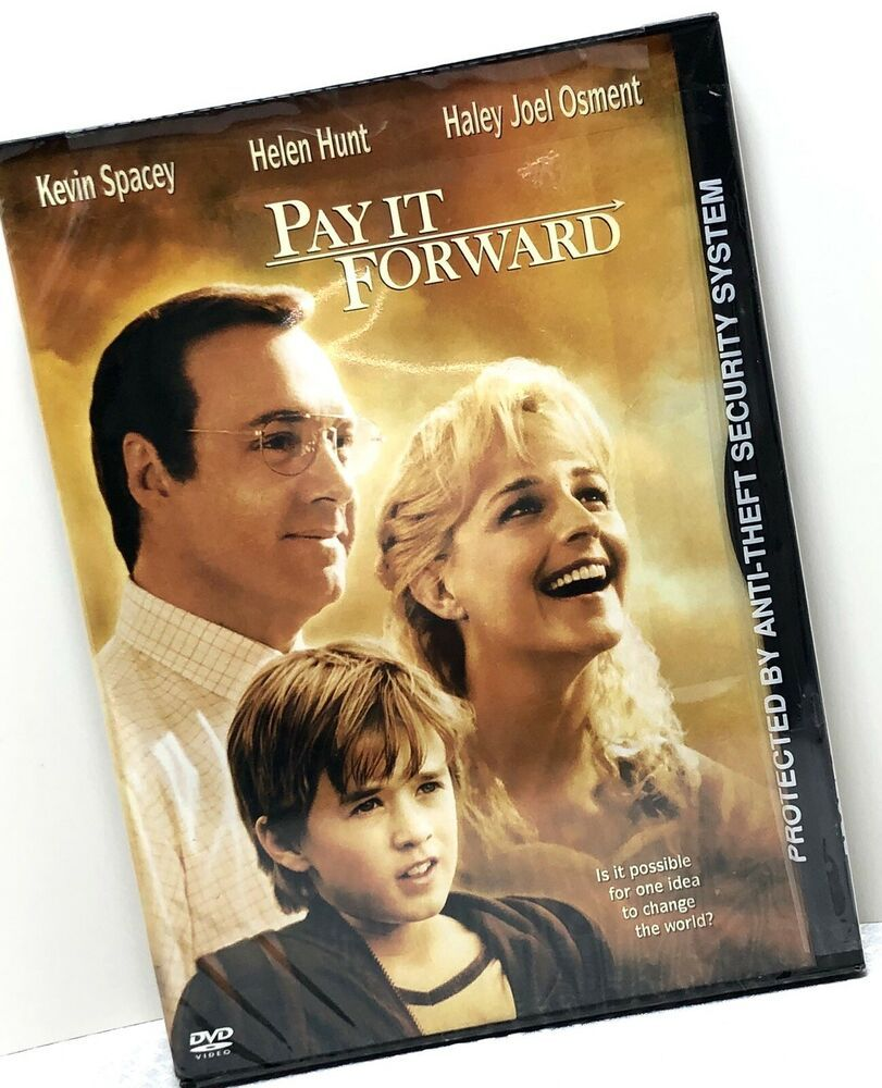 Pay It Forward Kevin Spacey Helen Hunt Haley Joel Osment
