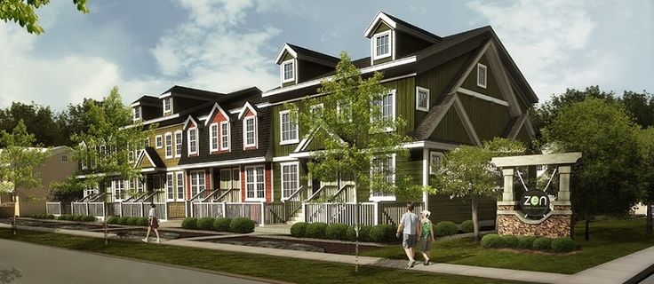 ZEN in Auburn Bay. Townhomes starting in the $250s located in Calgary, AB. Visit us at www.zeninbalance.com