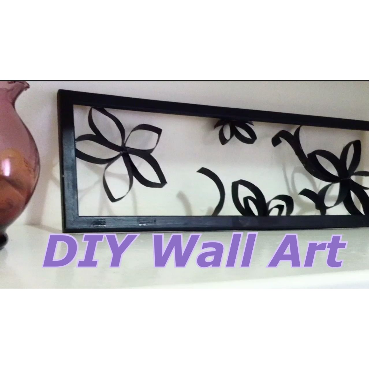 DIY Wall Art, I've seen this idea on Pinterest and decided to give it ago! More than pleased with the great results! Full tutorial here :)