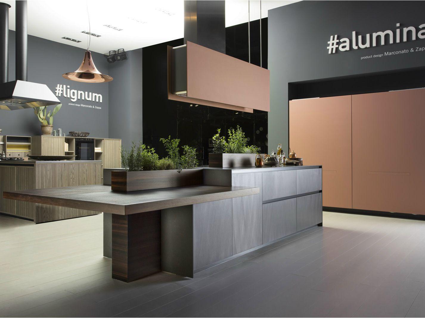 aluminium kitchen with island alumina by comprex design aluminium kitchen with island alumina by comprex design marconato