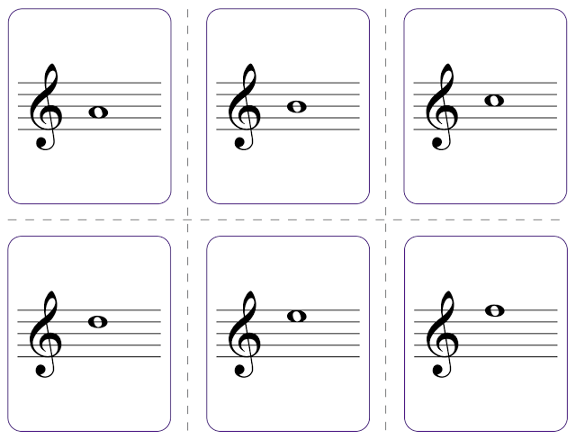 photo about Printable Musical Note Flashcards titled Beths New music Notes: Flash playing cards Tunes Education songs