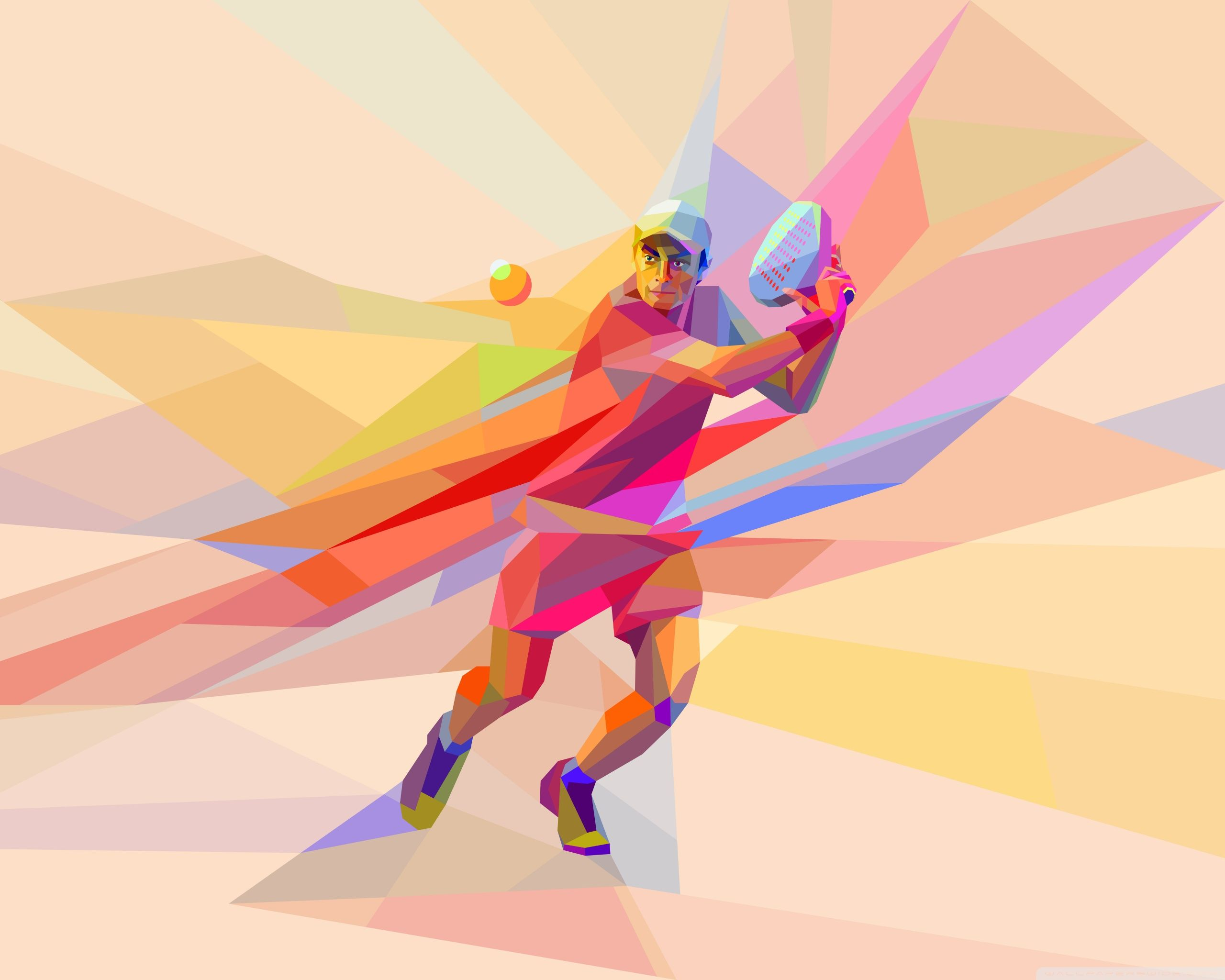 Tennis Ball Hd Desktop Wallpaper High Definition Fullscreen Tennis Wallpaper Colorful Backgrounds Padel