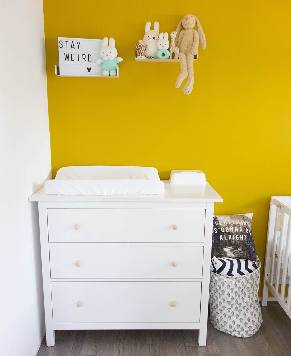 je babykamer inrichten is erg leuk, maar bepalen hoe je de commode, Deco ideeën
