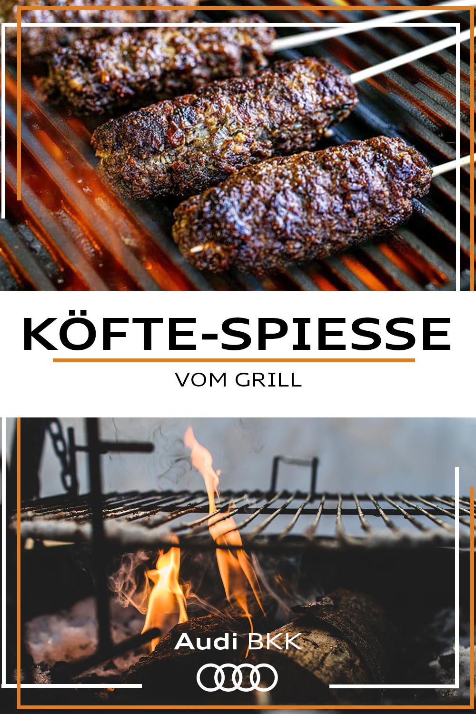 Wurzige Kofte Spiesse Lammhackfleisch Gesund Grillen Rezepte