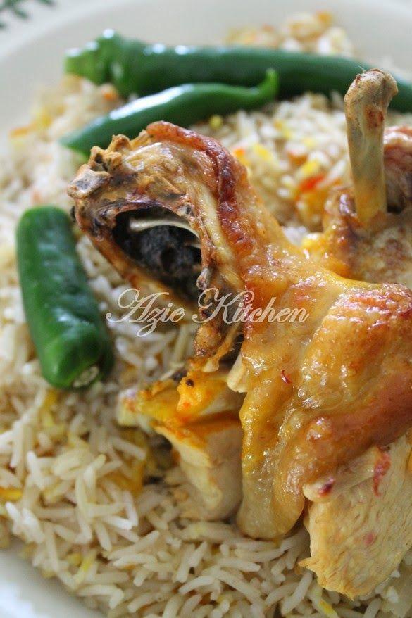 Azie Kitchen Nasi Mandi Yemen Cuti Hari Deepavali Resep Makanan India Memasak India Food
