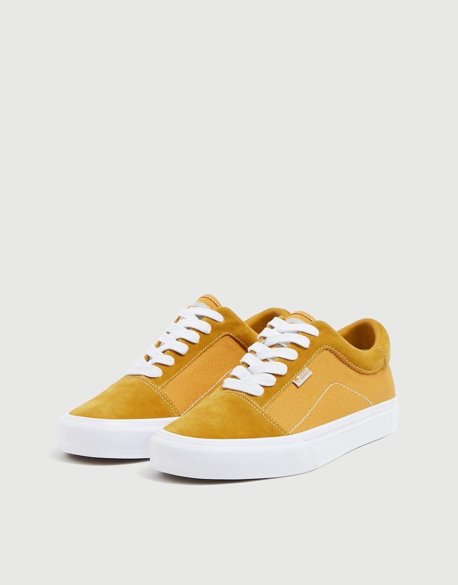 Mustard Yellow Street Trainers Pull Bear Vans Old Skool Sneaker Mustard Yellow Vans Sneaker