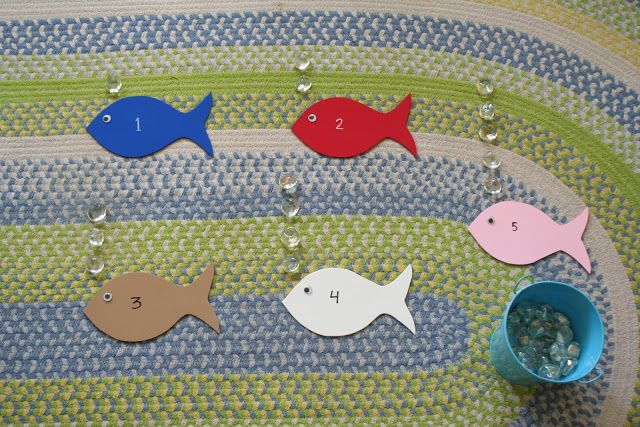 Little Page Turners: Bubble Counting Fish, use with book, Ten Little Fish by Audrey Wood