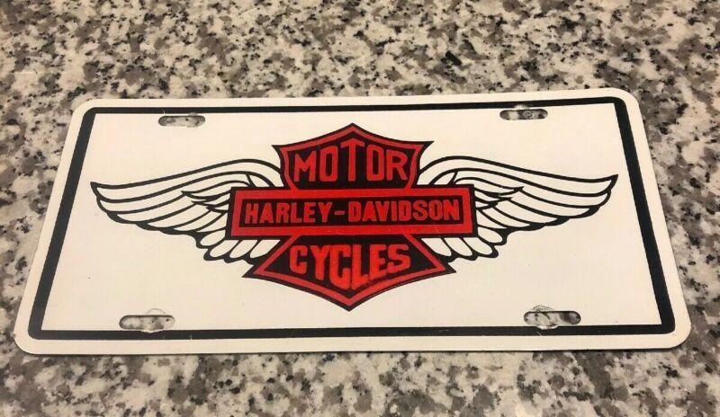 Harley davidson license plate vintage harley davidson