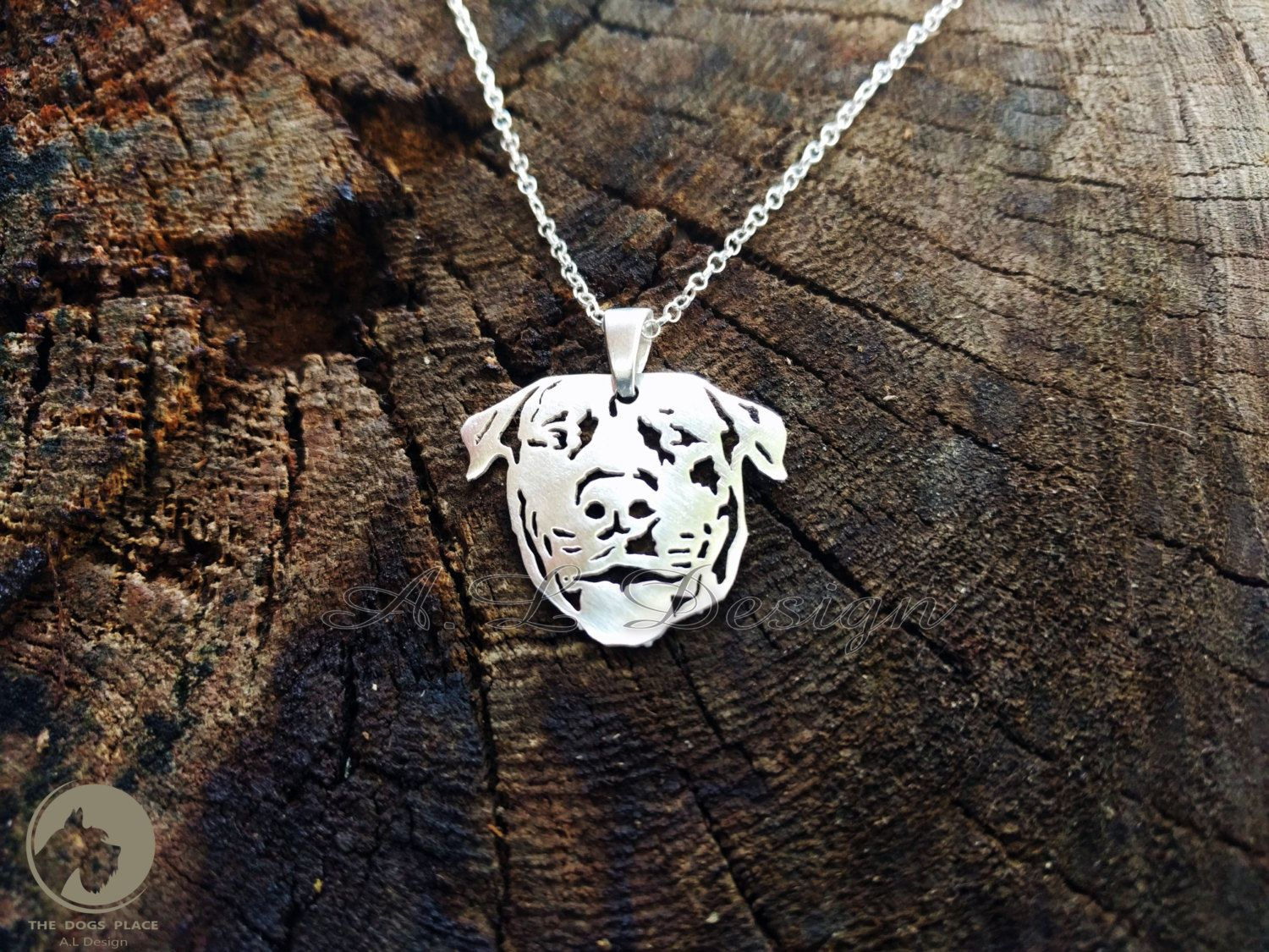 Puppy Necklace Dog Charm Rottweiler Lover Rottweiler Necklace Rottweiler Jewelry Pet Lover Charm Dog Pendant