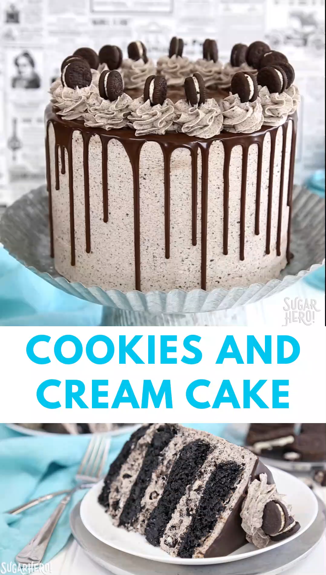 Cookies and Cream Cake Video