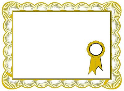 Examples Of Best Certificate Best Certificate Border Certificate Border Clip Art Borders Frame Border Design