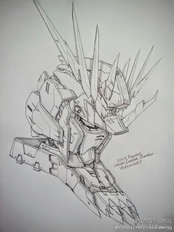 Gundam Guy Awesome Gundam Sketches By Vickidrawing Updated 1 20 15