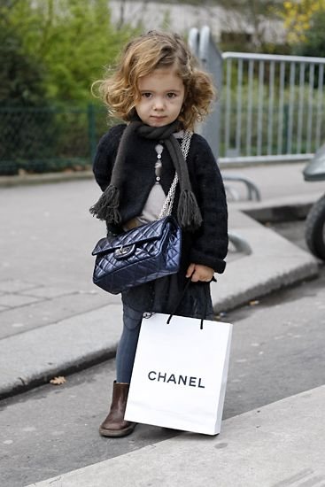 My Possible Future Child Chanel Bag Adorable Boots Fierce Scarf Yes