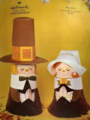 Vintage Hallmark Pilgrims Thanksgiving