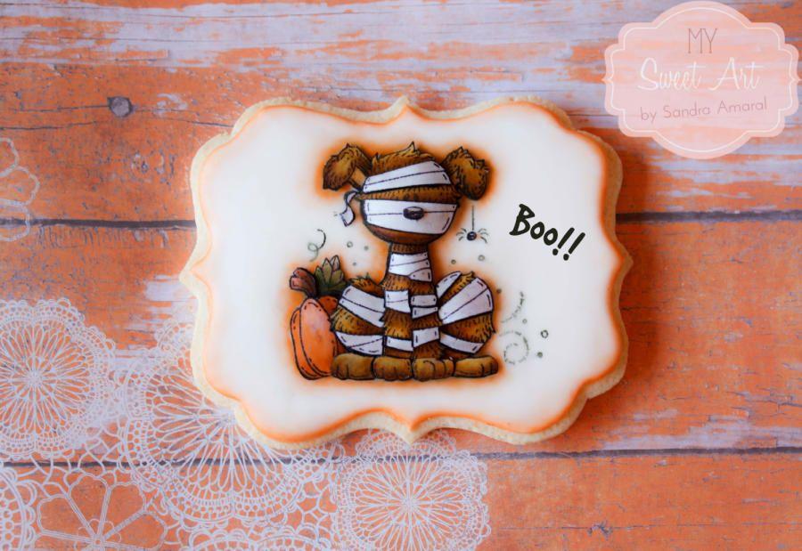 Doggy Halloween Cookie - Cake by My Sweet Art
