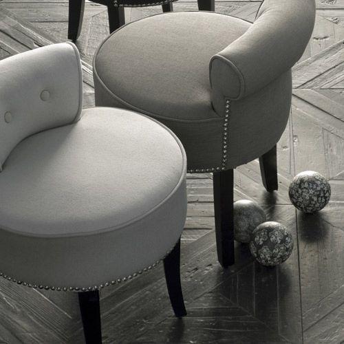 Petit fauteuil crapaud en Lin Beige Zenna prix promo Decoclico 175 ...