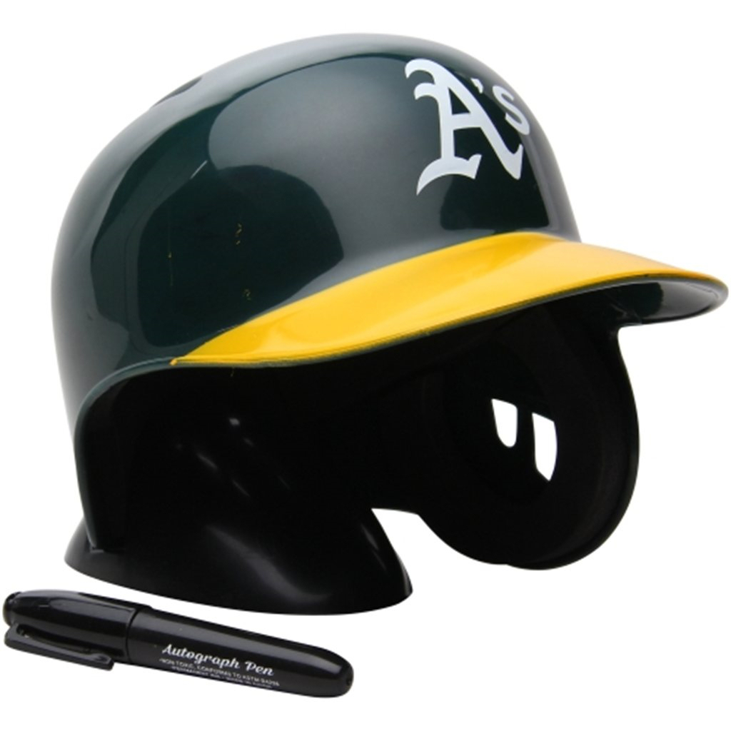 Oakland Athletics Mlb Mini Batters Helmet Batting Helmet Helmet Baseball Helmet