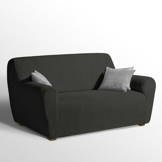 housse extensible pour fauteuil et canap ahmis housse pour fauteuil canap en tissu et. Black Bedroom Furniture Sets. Home Design Ideas