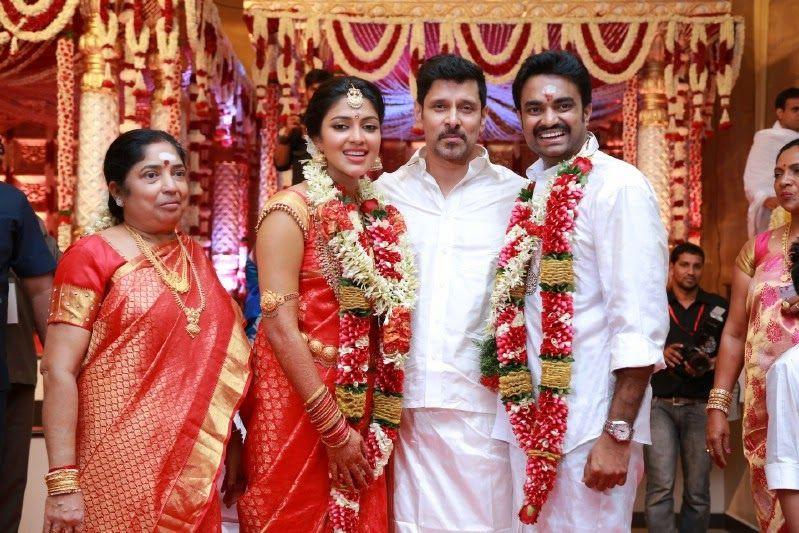 Cool Director Vijay And Actress Amala Paul Wedding