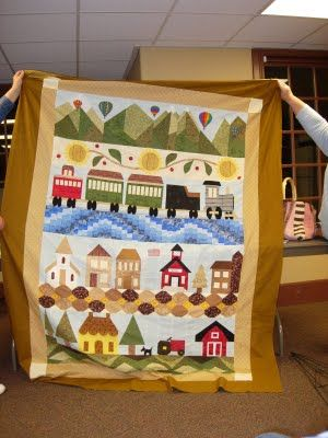 Heber Valley Quilters Blog: More Heber Valley Row Quilts!