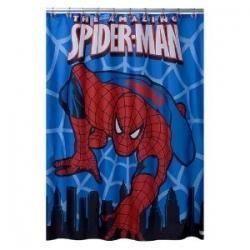 Spiderman Bathroom Decor Spiderman Shower Curtain Bathroom Decor