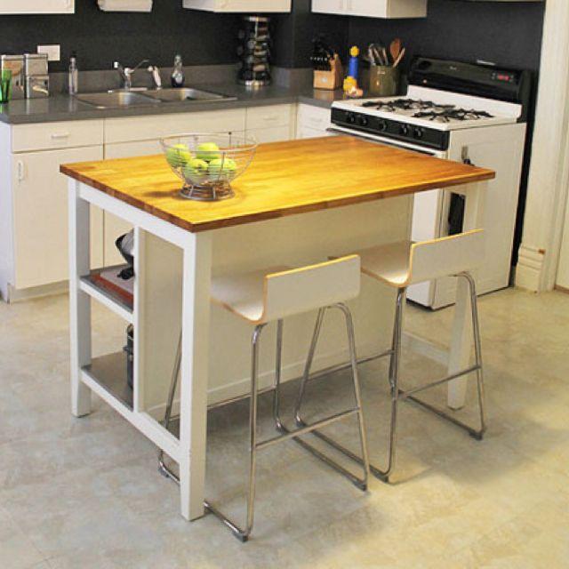 Kitchen Island Table Combination: Good Island/table Combo?