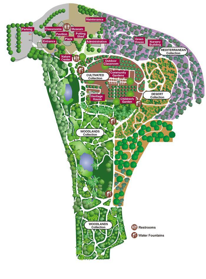 Fullerton Arboretum   A 26 Acre Piece Of Heaven In Fullerton, CA Map Garden  Sanctuary