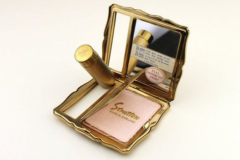 Vintage Stratton Compact Diamond Cut With Pop par FoundInTheGround