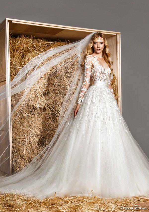 Zuhair murad bridal spring 2015 wedding dresses vestidos de noiva zuhair murad bridal spring 2015 wedding dresses wedding inspirasi junglespirit Images