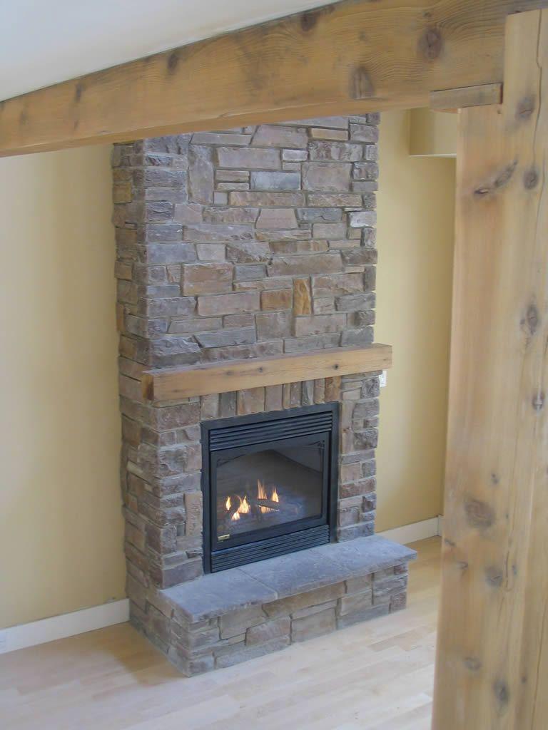 Stones for fireplace home stuff pinterest living room vintage