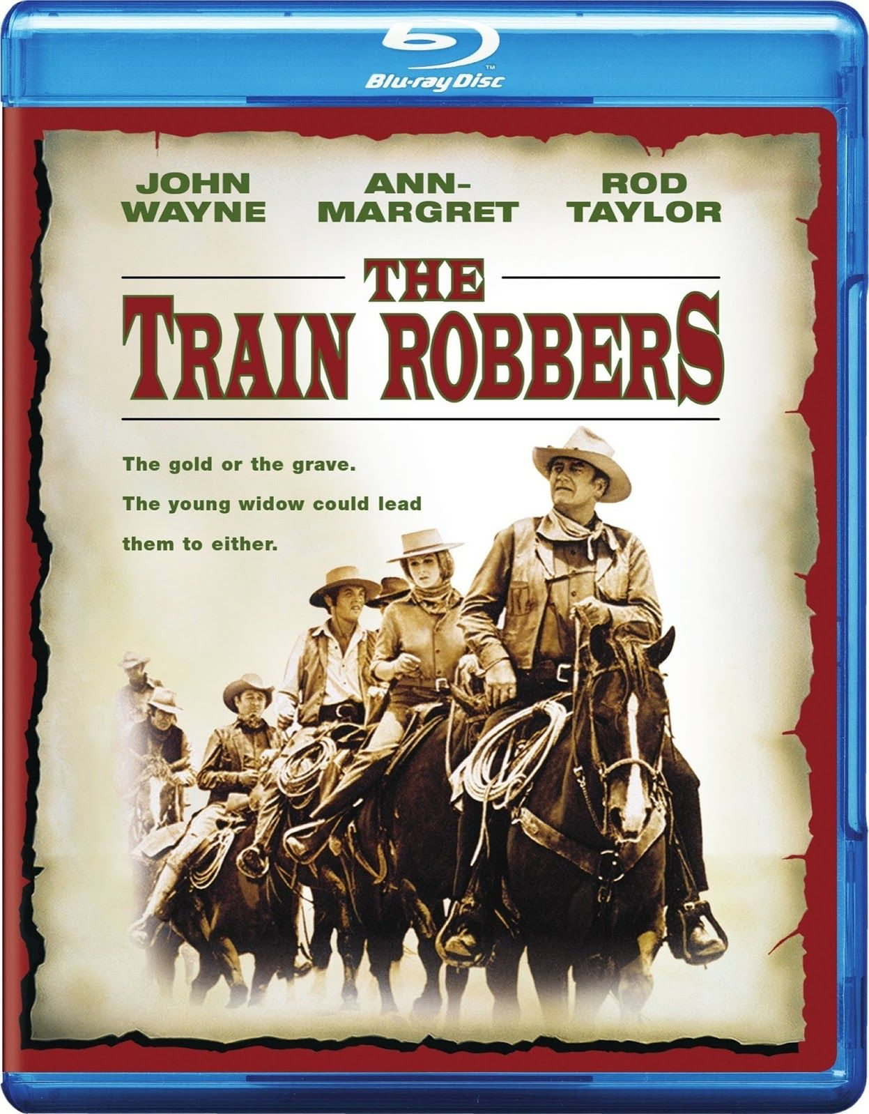 the train robbers full movie online
