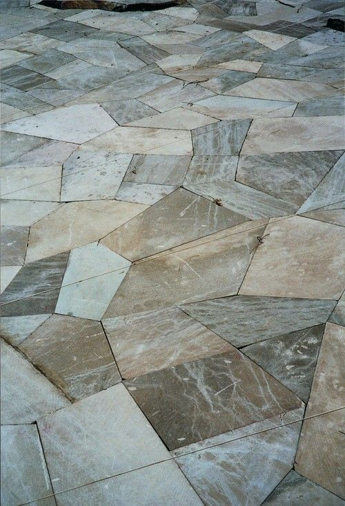 abstract geometric marble