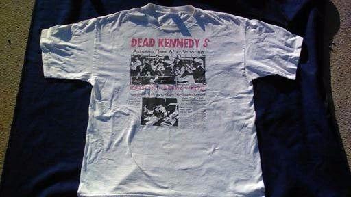Dead Kennedys T-shirt Vintage  Kennedy Assassination John Robert Jello Biafra  #Murina #BasicTee