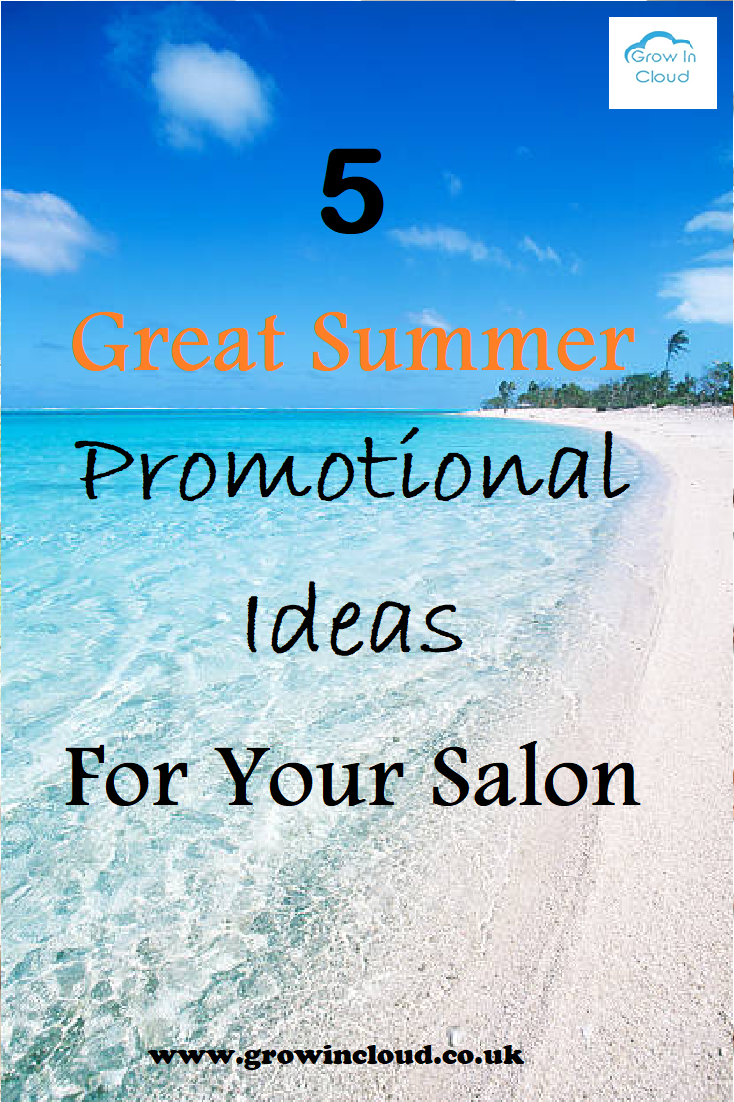 17 Great Summer Promotional Offers for Your Salon - Business