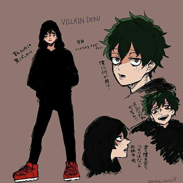 Villain Deku X Male Reader Lemon