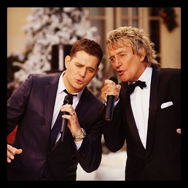 Michael Buble Rod Stewart Christmas Special Very Cool Michael