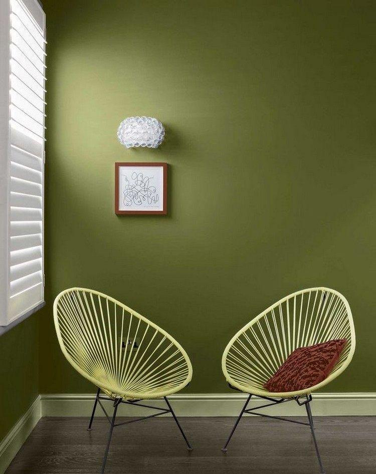 Peinture verte – 3 nuances de vert fraîches en 35 idées