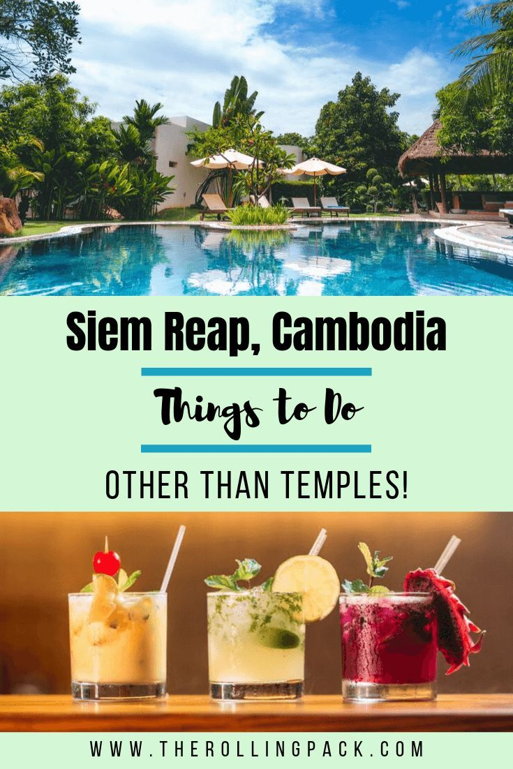 There is a LOT to do in Siem Reap other than Angkor Wat! Here I go over Pub Street, Phare Circus, the best food, and the best spas in Siem Reap! #siemreap #cambodiatravel #cambodia #southeastasiatravel  #southeastasia