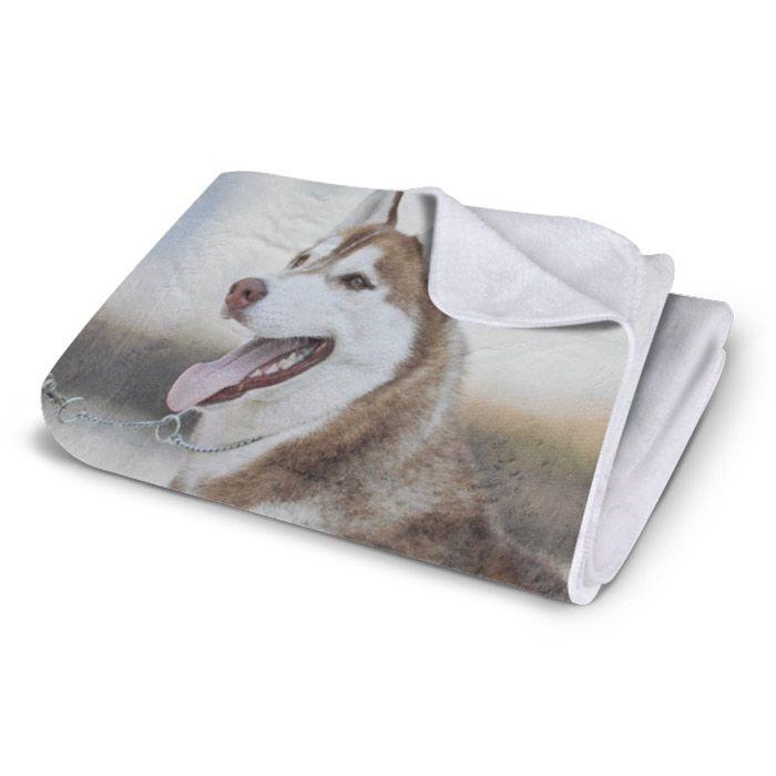 Plush Fleece Photo Blanket With Images Fleece Photo Blanket