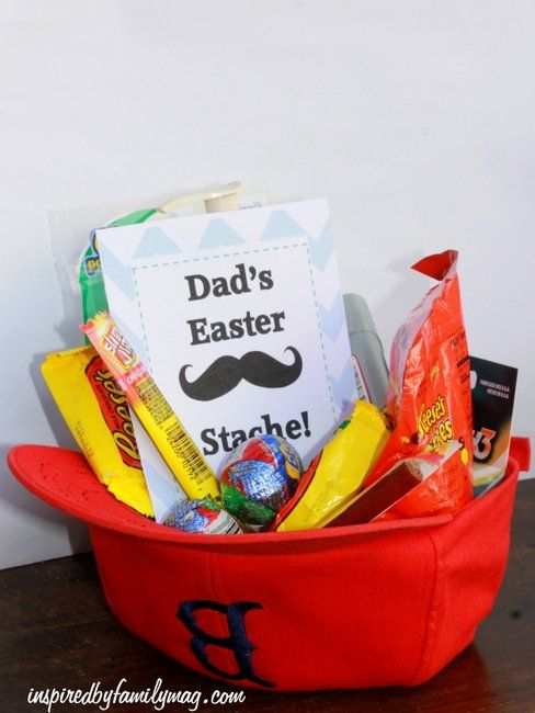 Easter basket gift idea dads easter stache basket ideas easter easter basket gift idea dads easter stache basket ideas easter baskets and easter negle Image collections