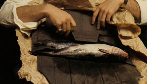 """Luca Brasi sleeps with the fishes"""" 