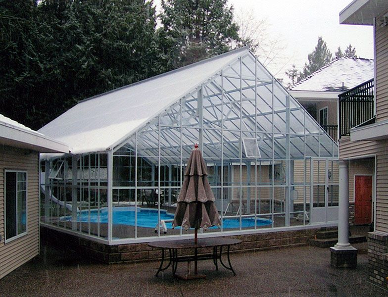 Greenhouse Pool Enclosure With Images Greenhouse Pool