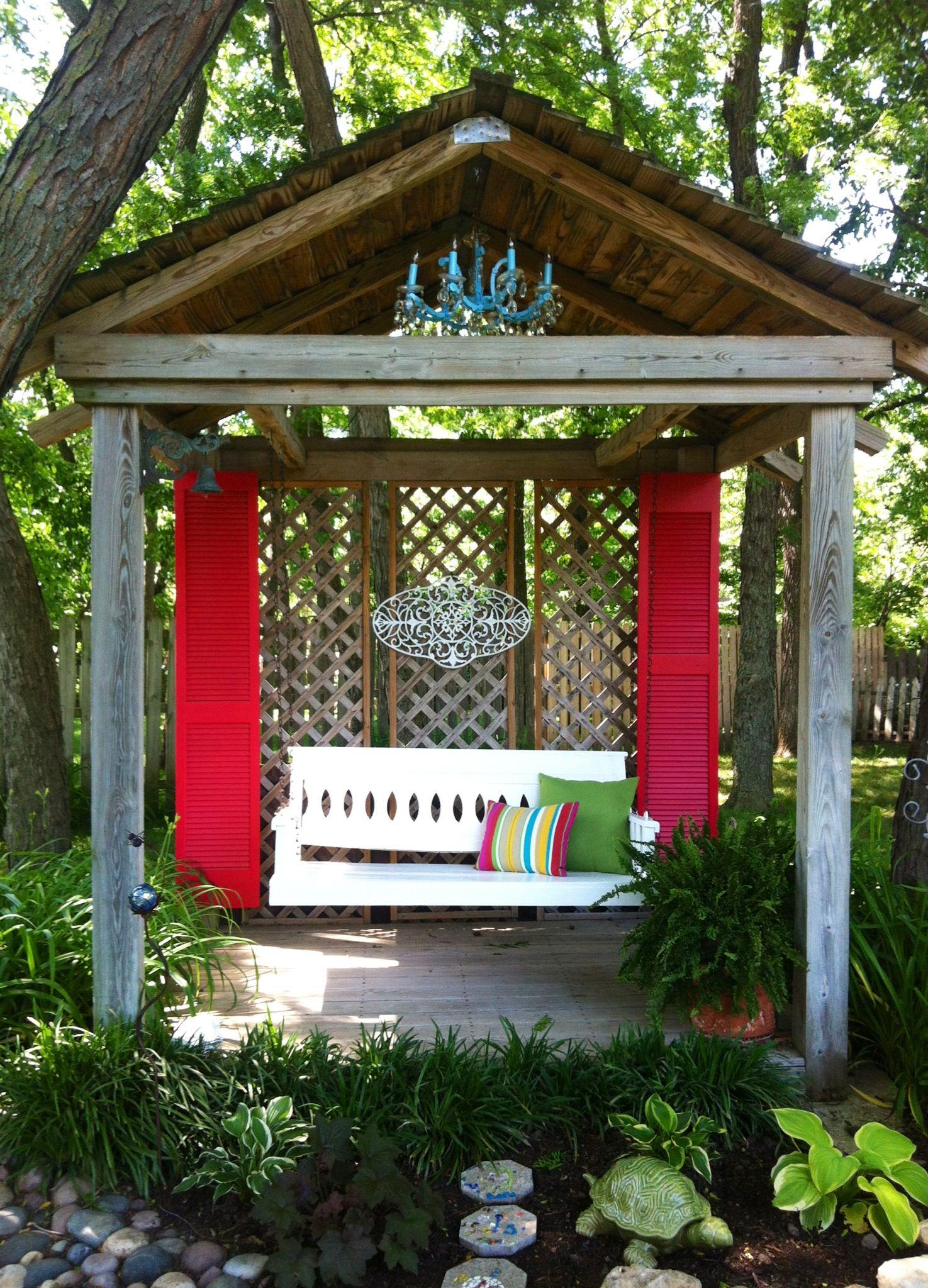 my backyard backyard inspiration pergola garden dream on porch swing ideas inspiration id=65509