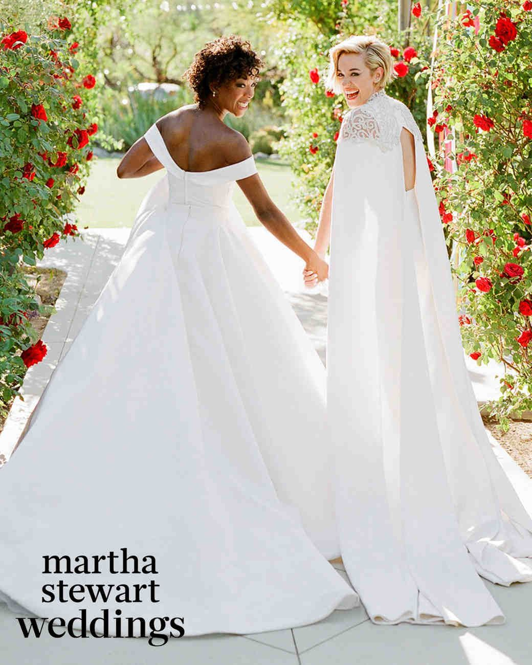 Samira wiley wedding dress  Exclusive See Samira Wiley and Lauren Morellius Incredible Wedding