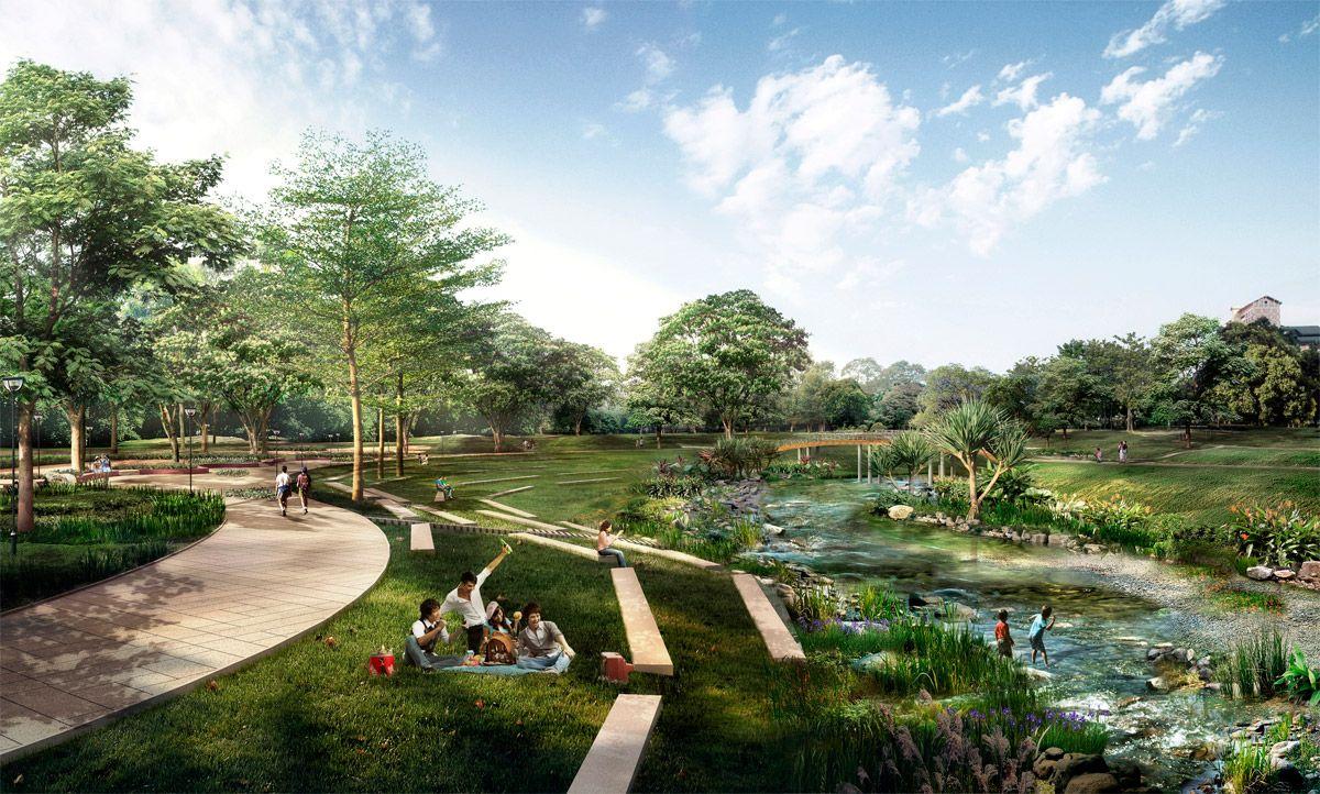 2011 Urban Edge Award Goes To German Water Artist Herbert Dreiseitl Park Landscape Urban Landscape Design Landscape