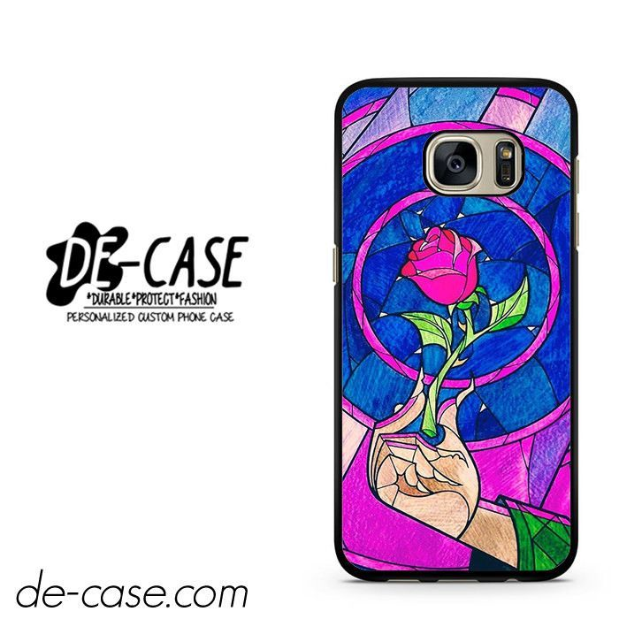Beauty And The Beast Rose DEAL-1703 Samsung Phonecase Cover For Samsung Galaxy S7 / S7 Edge