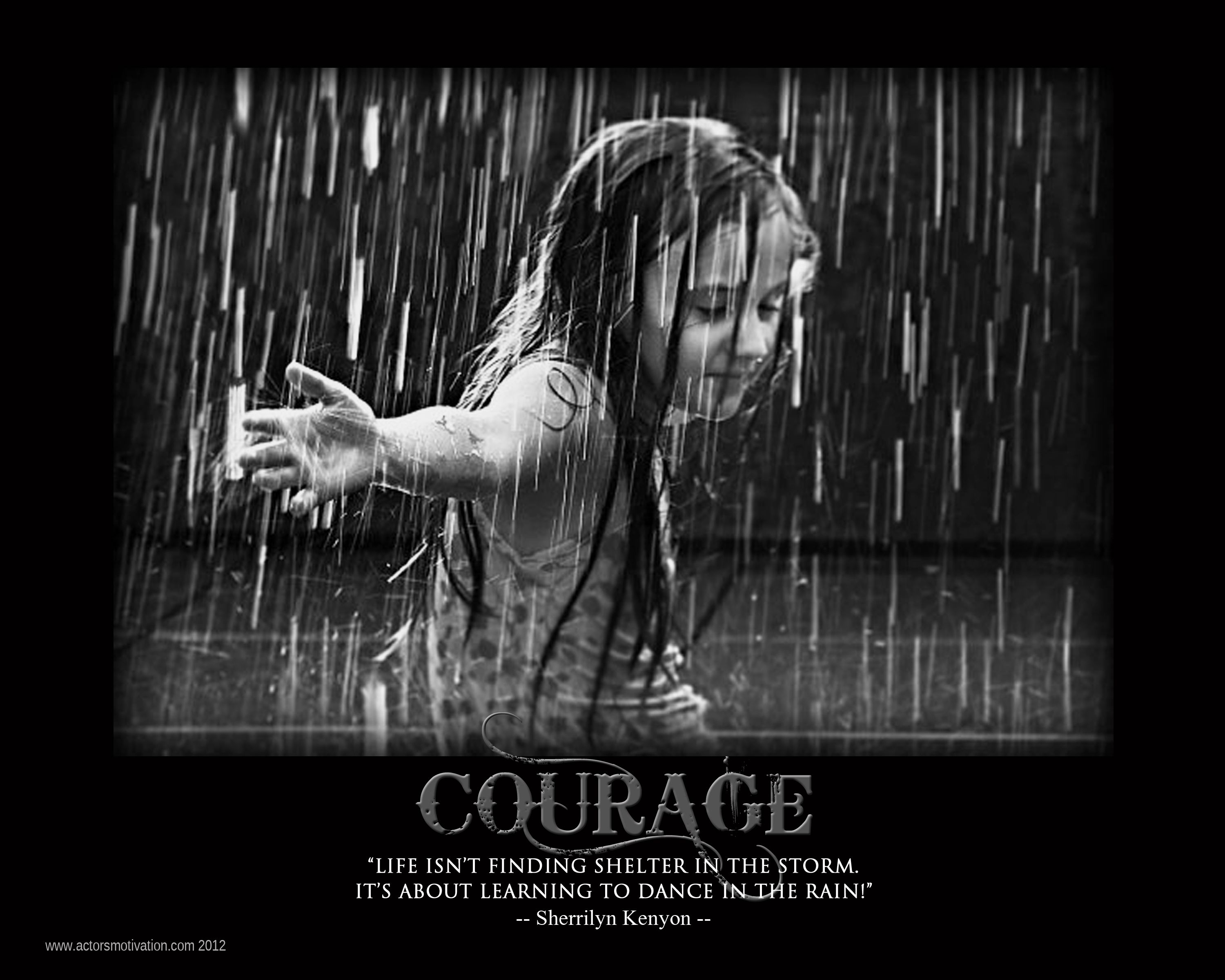 Lovely Quotes About Dance In The Rain (39 Quotes)
