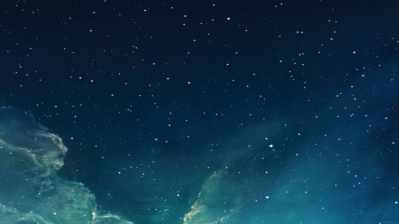 Ipapers Co Apple Iphone Ipad Macbook Imac Wallpaper Mc56 Wallpaper Galaxy Blue 7 Starry Star Sky Blue Galaxy Wallpaper Star Sky Galaxy Wallpaper