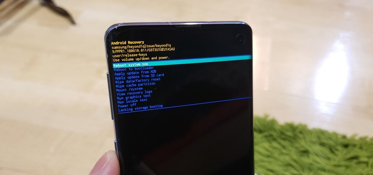 How To Boot Your Galaxy S10 Into Recovery Mode Download Mode